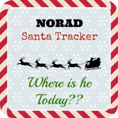 track where santa is