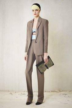 Balenciaga Wear It Now! | The New Summer Suit | Resort 2013 Highlights | FocusOnStyle.com #businesschic