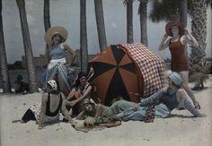 .beach-1920's?  Autochrome