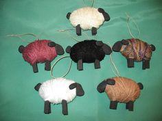 sheep christmas ornaments