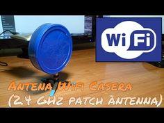 CÓMO HACER UNA ANTENA WIFI PLANA (2.4 GHz PATCH ANTENNA) - YouTube