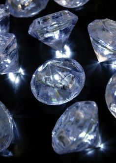 Submersible Diamond Lights Battery Operated (Pack of 12)