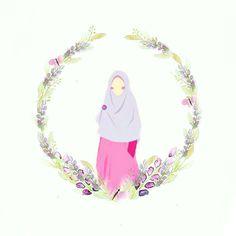 Muslim Couples, Muslim Women, Hijab Logo, Islamic Cartoon, Anime Muslim, Hijab Cartoon, Kawaii, Origami, Niqab