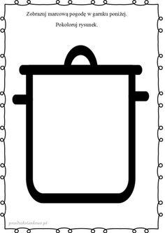 MARCOWA POGODA – karty pracy – Przedszkolankowo