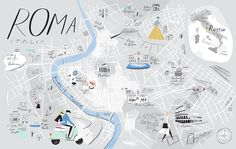 Mind the Map, a new collection of artwork published by Gestalten, shows the skill, humour and care involved in map design, including one depicting New York's smells, and a meticulously hand-painted ski map