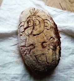 Domácí kváskový chléb - Rákosníček; Homemade sourdogh bread Home Decor, Homemade Home Decor, Decoration Home, Interior Decorating