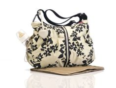 This is the one for me {: Nothing like a bit of shopping to put a smile on my face. Babymel Amanda - White Modern Floral