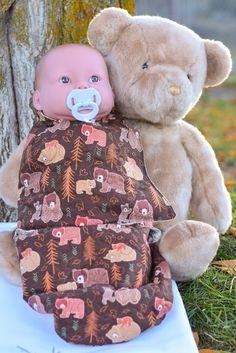 Hand made baby sleep sack swaddler baby by babykarnelyendesigns