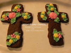Bonham Business: Chocolate Easter Cross Cookies