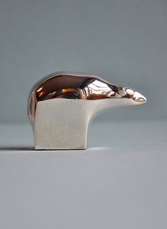 Silver Plate Bear Polar by Gunnar Cyren for Dansk Designs