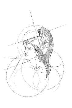 Iraklis Katsouleas | #Athena... (with some adjustments)🇬🇷🖊#newteqniques #neptune #poseidon #tattoo #design #sketch #limassol #cyprus #art #artwork #instagood #instamood #mythology #tattooartists #tattooartist #tattoodesign #pencil #pencildrawing #cyprus #limassol #design #fabercastell #greek #mythology #athena | 682721 | Tattoodo Artemis Tattoo, Athena Tattoo, Poseidon Tattoo, Greek Mythology Tattoos, Greek Mythology Art, Greek Goddess Tattoo, Greek Tattoo, Greek Drawing, Deviantart Drawings