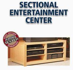 Ah! E se falando em madeira...: Centro de entretenimento + junta kreg += Mesa de a...