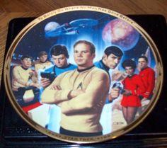 STAR TREK 25th Anniversary Commemorative plate the Hamilton Collection http://www.amazon.com/dp/B001G3VV5I/ref=cm_sw_r_pi_dp_acCWtb0XQ7NKE5JR