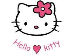 Resultado de imagen para moldes para tarjetas scrapbook hello kitty