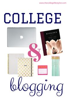 College & Blogging (tips for beginners) — The College Life Stylist @alexeisenhardt