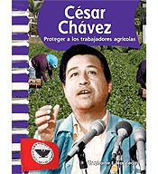 Primary Source Readers: Biografias de estado unidenses: Cesar Chavez (Spanish Version) cover