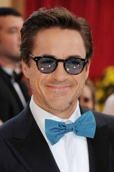 30d2ec77ad Rdj. With a bow-tie on.  D Robert Downing Jr