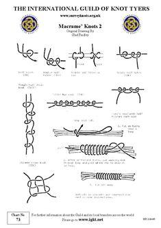 macrame+knots | Macrame Knots                                                                                                                                                                                 More