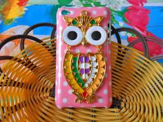 Fashion hard Case Cover With  Cute Owl For Apple ipod touch 4 case ,4GEN,CASE SH-1739. $10.99, via Etsy.