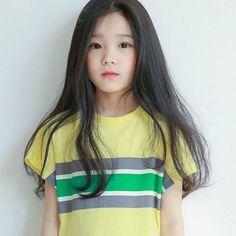 Cute Asian Babies, Korean Babies, Cute Korean Girl, Cute Asian Girls, Cute Little Girls, Cute Kids, Fashion Kids, Cute Baby Girl Images, Ulzzang Kids