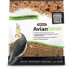 Avian Entrees Garden Goodness for Small to Medium Birds