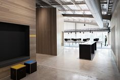 Image 7 of 11 from gallery of Unit for Goodman / MAKE Creative. Photograph by Luc Remond Interior Work, Study Areas, Commercial Design, Creative Studio, The Unit, Architecture, How To Make, House, Inspiration