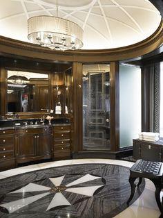 men's bath & dressing room