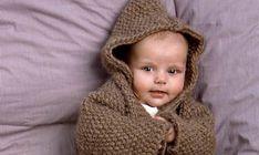 Se strikkeopskriften her. Knit Crochet, Crochet Hats, Baby Knitting Patterns, Winter Hats, Mest Populære, Creative, Knitting Hats, Crochet