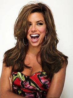 If it could be a goal to be as beautiful as Eva Longoria that would be #1 on my goal list