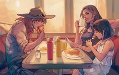 Overwatch - Route 66 Diner Lunch