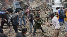 VIDEO. S�isme au N�pal: Une violente r�plique...