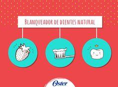 ¿Sabías que las fresas pueden ayudar a quitar manchas de café en los dientes? Esto es por su contenido de ácido málico. Tritura un par de fresas y espolvorea bicarbonato de sodio. Cepilla tus dientes con esta mezcla y déjala reposar por 5 min. Enjuaga y ¡listo! #TipsOster