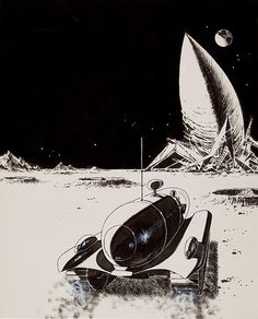 Moon of Mutiny, 1961 by Ed Emshwiller (EMSH)   by Tom Simpson