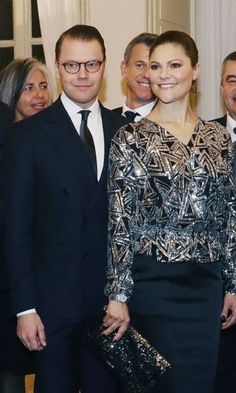 That blouse!!! -->Crown Princess Victoria and Prince Daniel enjoy la dolce vita during their three day visit in Italy