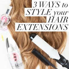 Check out our top three ways to style hair extensions over on the Dirty Looks blog :)