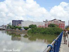 Ponte de ferro em Recife