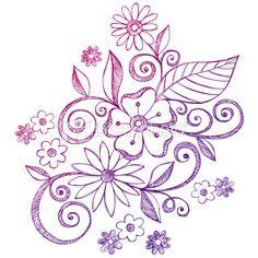 doodles flowers - Google Search