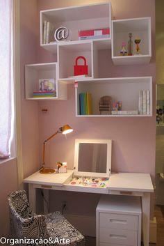 Casei, quero casa: Decorando e organizando com prateleiras e nichos.