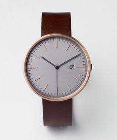 203 SERIES Italian Leather Stainless Steel Hand Crafted and affordable Mens watch | Uniform Wares