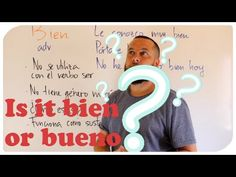 Tips to use bien and bueno correctly