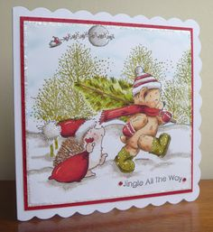 Stamps, Pencils and Paper!: Penny Black Saturday #167 ~ Make a Scene!