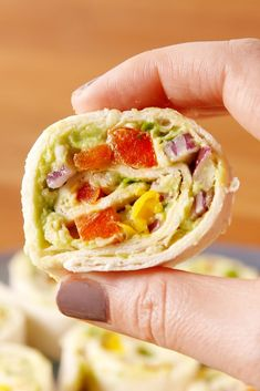 Chicken Avocado Roll-UpsDelish