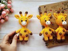 Crochet Giraffe Pattern, Crochet Unicorn, Crochet Amigurumi Free Patterns, Crochet Animal Patterns, Stuffed Animal Patterns, Free Crochet, Fox Pattern, Crochet Baby Toys, Crochet Teddy