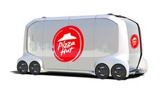 Pizza Hut Channels Black Mirror With Self-Driving Pizza Delivery Van  Pizza Hut is channeling Black Mirror with its new self-driving pizza delivery car concept.  At this year's Consumer Electronics Show Pizza Hut announced it is teaming up with Toyota to potentially havepizzas delivered in autonomous vehicles in the near future. Toyota unveiled designsof the self-drivingconcept vehicle called e-Palette (below) which Pizza Hut wants to make full use of.   The e-Palette self-driving concept…
