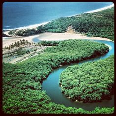 Barra de Camaratuba. Paraiba. Brasil.