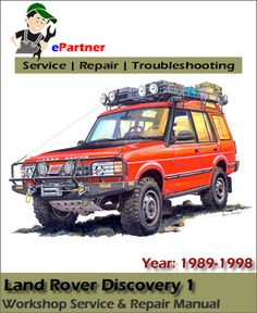 download land rover service manual pdf land rover service manual rh pinterest com Leasing Land Rover Discovery 1994 1994 Land Rover LR3 Problems