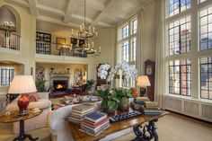 The den with wood burning fireplace adds the finishing touch to this grand entertaining space. The Grand Dame of Tudor City. Sold by The Morrel Group. See more at www.morrelrealty.com !