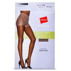 Hanes Premium Women's Ultra Sheer Pantyhose -