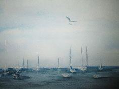 windless en plein air by watercolorstory on Etsy, $38.00