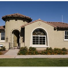 Stucco Exterior Paint Color Schemes stucco housemwbutterfly, via flickr - color scheme | home